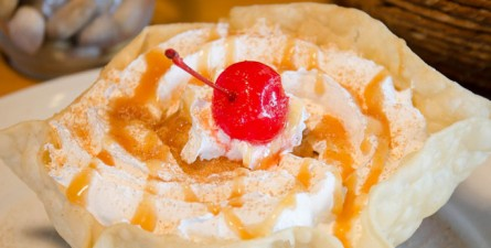 Our Famous Deep Fried Ice Cream